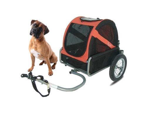 Bike trailer – for dogs