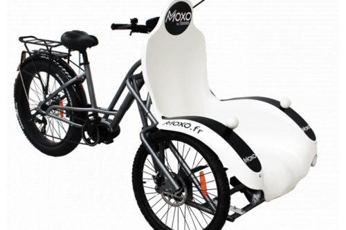 Triporteur électrique destiné aux personnes handicapées ou âgées. Vélos 17 Loisirs sur l'île d'Oléron