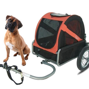 Bike trailer rental for dogs on the island of Oléron - Vélos 17 Loisirs