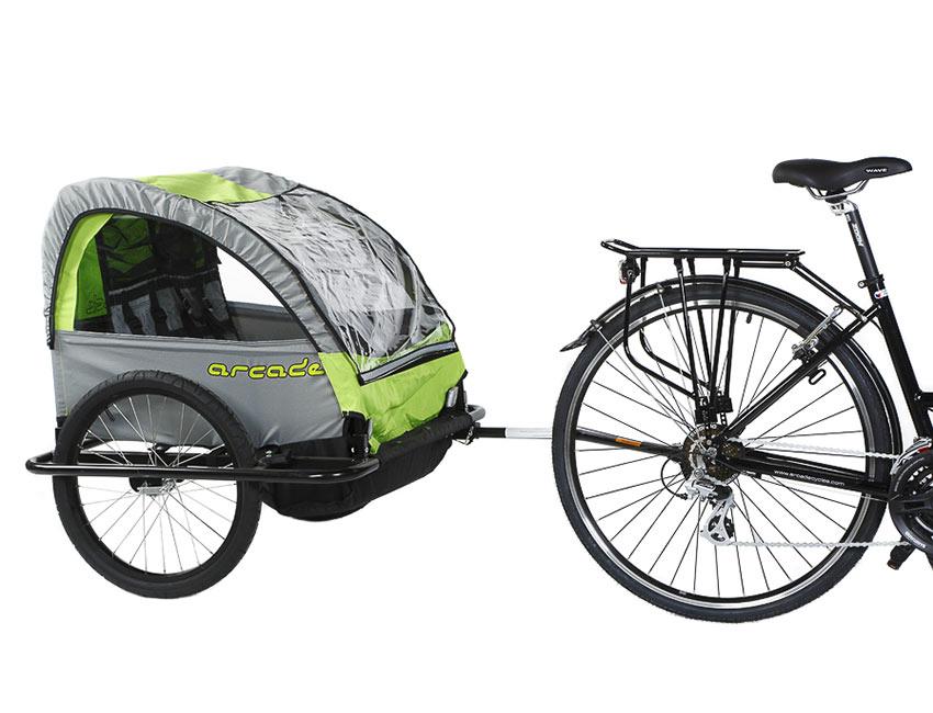 Remorque 2 enfants Classique - Vélos 17 Loisirs